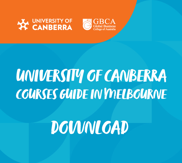 Download University of Canberra Courses Guide in Melbourne