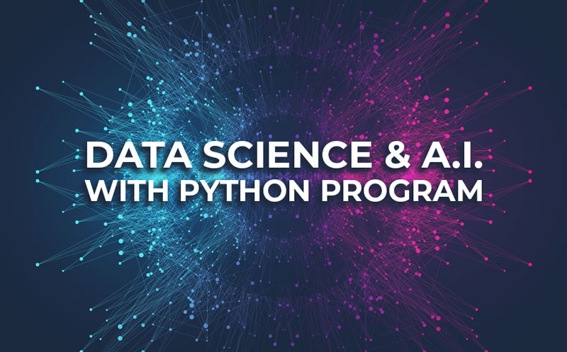 Data Science and A.I. With Python program