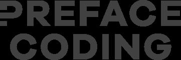 Preface coding logo