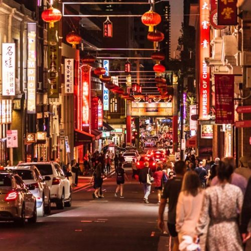 Melbourne events - Chinatown
